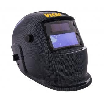 db1e51bb882a8 Máscara de solda Vicsa Optech escurecimento automático - cinza grafite ...