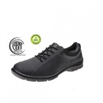 0b9ad452d4e1c Sapato Marluvas Service com fechamento em cadarço - 50F60 SRV ...