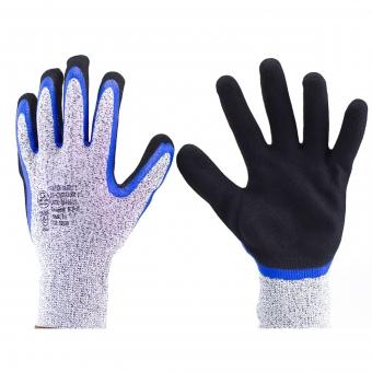 Luva Super Safety látex nitrílico com suporte têxtil - SS 1007 -  Polietileno de alta densidade 959572514b