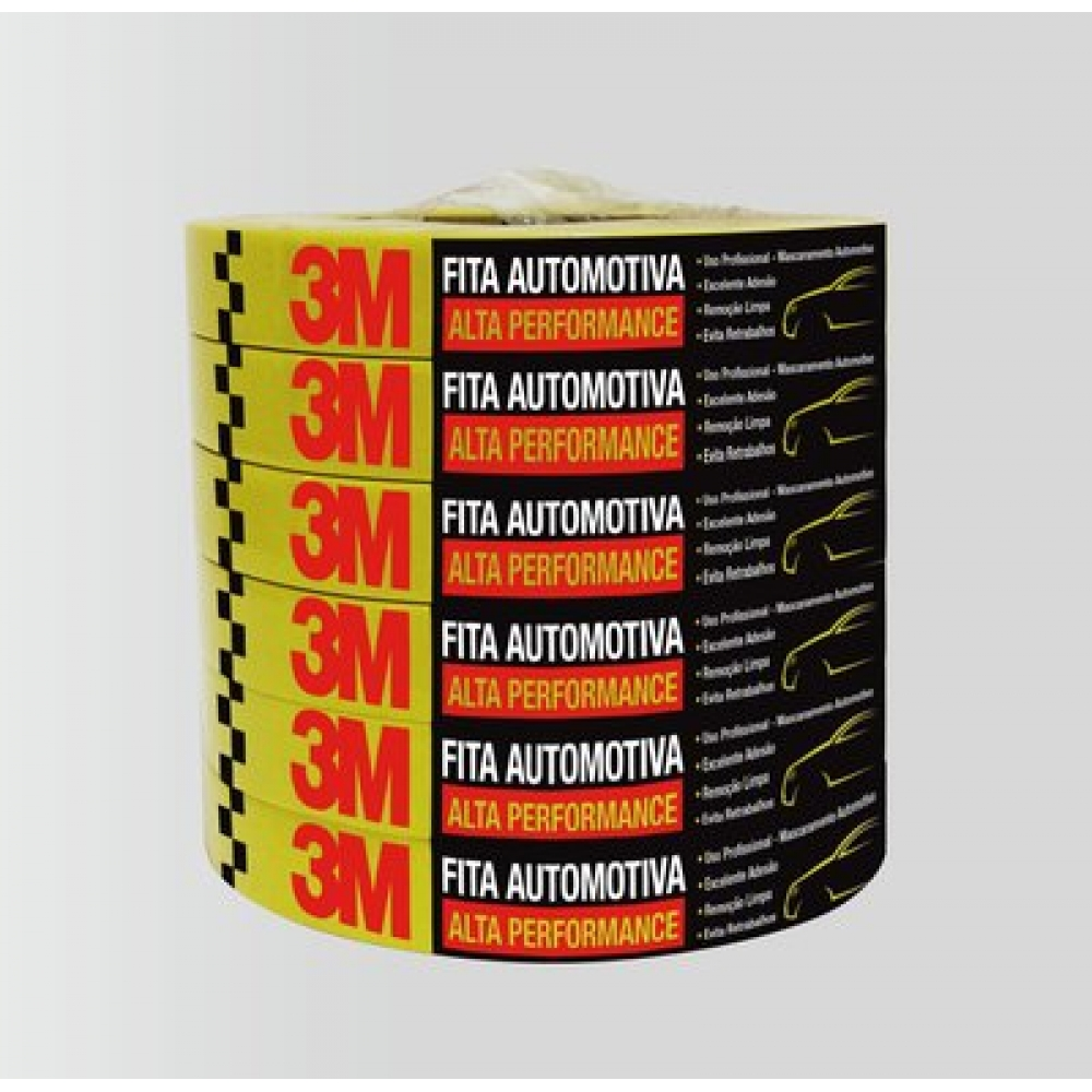 Fita Automotiva 3M- 18 mm x 40 m - Alta Performance